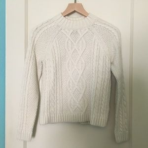 Abercrombie Cream Sweater